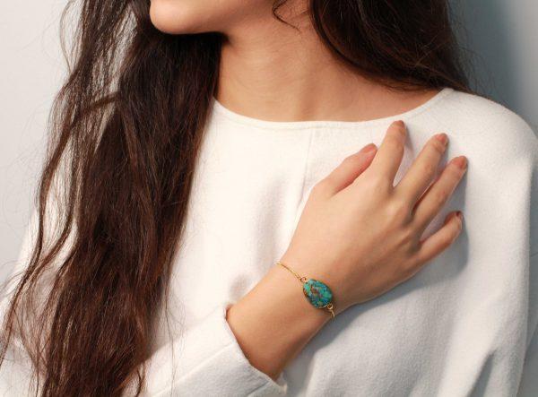 turkoos armband