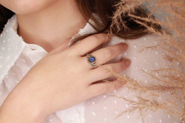 labradoriet ring