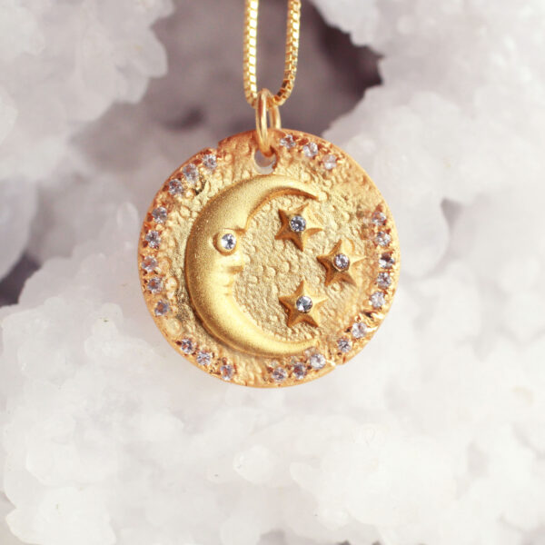 moon stars coin